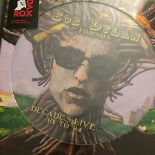 BOB DYLAN & FRIENDS 'DECADES LIVE' 61 TO 94 - NEW 2017 PICTURE DISC VINYL LP