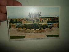 Vintage PC Raphael Tuck & Sons Ltd The Bandstand Dolphin Gardens, Cleethorpes