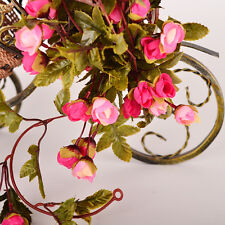 Artificial Fake Silk Rose Flower Vine Hanging Garland Home Wedding Party Decor