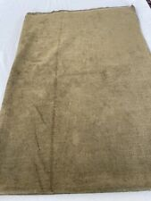 2 3/4 Yds Olive Heavy Weight Chenille Upholstery Fabric