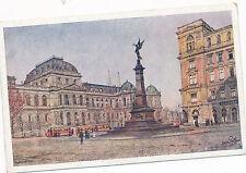 AK aus Wien, Universität und Liebenbergdenkmal   (D9)