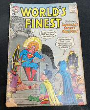 World's Finest Comics #111 (Aug 1960, DC) Book Is Somewhat Worn
