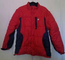 Vintage Starter 3M Fullzip Reversible  Puffer Snowcoat Jacket Vest Men Large