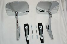 Chrome 1969-72 Chevy Chevelle El Camino Monte Carlo Outside Door Mirrors LH RH