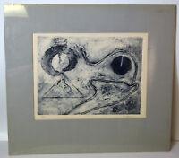 """12"""" Original 3D Abstract Print Artist Proof Signed Friedland Wall Art"""