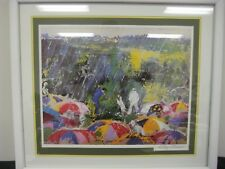 "LEROY NEIMAN SIGNED CLASSIC ""ARNIE AT AUGUSTA"" LITHOGRAPH WOOD FRAMED & MATTED"