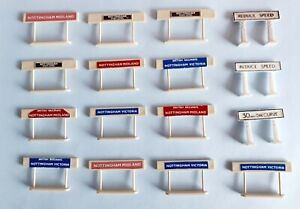 Merit & Similar OO Gauge Accessories Railway/Station Signs Job Lot