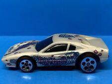 Hot Wheels 1997 Quicksilver Ferrari 308 - White