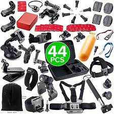 44in1 Accessories Pack Case Chest Head Monopod For GoPro Go pro HD Hero 4 3+ 3 2