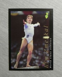 Kim Zmeskal (1) 1992 Classic World Class Athletes Card #25 _ LOW MAIL COST