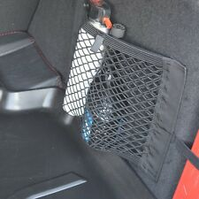 1PC Black Nylon Car Trunk Rear Cargo Organizer Storage Elastic Mesh Net Holder