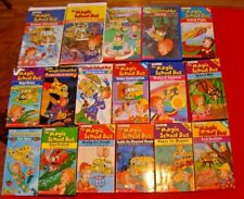 17 THE MAGIC SCHOOL BUS VHS TAPES ELEMENTARY SCIENCE - HOMESCHOOL