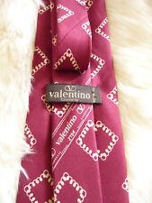 Valentino Men's Cravatte 100% Silk Tie