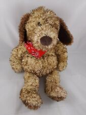 "Gund Jed Dog Plush w/ Bandana 14"" #5356"