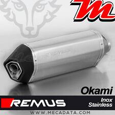 Silencieux Pot échappement Remus Okami inox Suzuki SV 650 - 2016