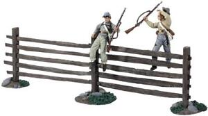 Britain 31222 American Civil War Up and Over MIB Rare Retired & Sold Out