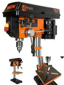 "10-Inch Drill Press Machine 1/2"" Chuck Adjustable Electric Bench Drilling Tool"