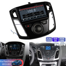 """9"""" Android 9.1 2DIN Car Radio GPS Navigation 1+16G For 12-17 Ford Focus w/Canbus"""