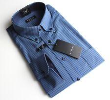 Hemd, Eterna, Gr. 43, pflegeleichte Baumwolle, Comfort Fit, normale Schnittform