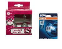 H7 MegaLight Ultra +90% bis 90% mehr Licht 2St GE + W5W Cool Blue Intense