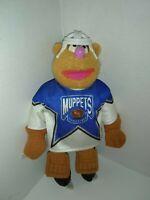"1995 Mcdonald's Muppets Fozzie Bear Nhl Hockey Player Plush 11"" Tall"