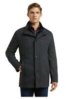 JOS A BANK 1905 Collection Gray Tailored Fit Wool Car Coat Men's 2XL ~ NWT $550