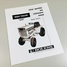 heavy equipment manuals books for bolens tractor for sale ebay rh ebay com