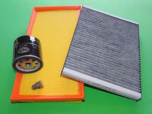 Ölfilter Luftfilter Pollenfilter VW Golf 4 1.6 FSI 81kW/110PS MKB: BAD