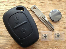 SUITABLE FOR RENAULT TRAFFIC TRANSPONDER MASTER REMOTE KEY FOB CASE REPAIR KIT