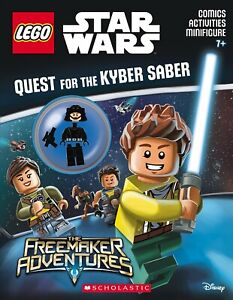 Lego Star Wars: Activity Book Quest for the Kyber Saber