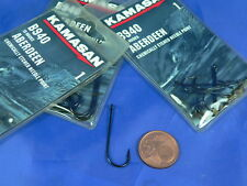 3 buste da 10 ami Aberdeen Kamasan B940 n°1 pesca surf casting, siliconi AM16