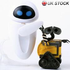 2pcs Disney Pixar  Wall. E Do Older&Eve Mini Action Figure Robot Toys Boxed Gift