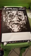 Il teatro degli orrori poster manifesto locandina  il mondo nuovo