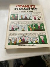 Peanuts Treasury Book Hard Cover