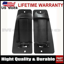 2PCS Rear Outside Door Handle for 99-07 Chevy Silverado GMC Sierra Extended Cab
