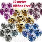 PINK BLUE Age Birthday Balloons 16th 18th 21st 30th 40th Birthday Decorations UK