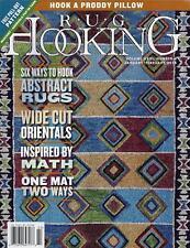 Rug Hooking Magazine Back Issue Volume XXVI, #4, January/February 2015