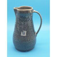 Studio Pottery Jug Mount Saint Bernard Abbey Glazed Stoneware Large Pitcher