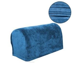 Sofa Armrest Cover Stretch Slipcover Covers Dustproof Protector Velvet Cover