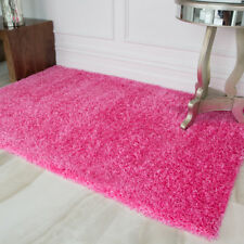 Bright Blush Mauve Pink Rugs Living Room Kids Barbie Baby Pink Girls Bedroom Mat