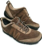 Mens Merrell Trainers Moto Racer Gunsmoke UK 7 Brown Lace Up Casual Trainers
