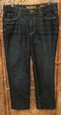 7 For All Mankind Womens Jeans Size 12 Straight Denim Medium Wash 5 Pocket