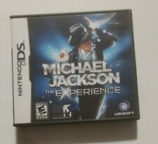MICHAEL JACKSON the Experience Nintendo DS Complete in Box Ubisoft Music Puzzler