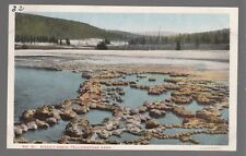[52467] 1915 POSTCARD BISCUIT BASIN IN YELLOWSTONE PARK (HAYNES PHOTO)