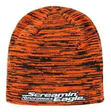 Harley-Davidson Men's Screamin' Eagle Reversible Space Dye Knit Cap HARLMH0298