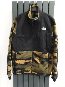 THE NORTH FACE Camo Full Zip Fleece Jacket Size M