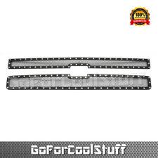 For Chevy Silverado 2500/3500 2007 2008 2009 2010 Steel Black Upper Mesh Grille