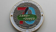 LAND Rover Club griglia Badge emblema Ranger Rover Griglia BADGE EMBLEMA BADGE in smalto