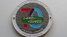 Land Rover Club Grill Badge Emblème Ranger Rover Grill Badge Emblème émail insigne