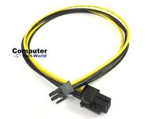 Mini 6pin Male to 6pin Male PCIe Power Cable for Mac Pro GPU 35CM 18AWG